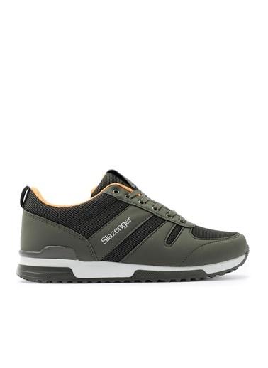 Slazenger Slazenger EDWIN Sneaker Erkek Ayakkabı   Saks  Haki